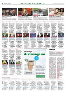 Anzeigen Hamburger Ärztemagazin Mai-Ausgabe im Hamburger Abendblatt