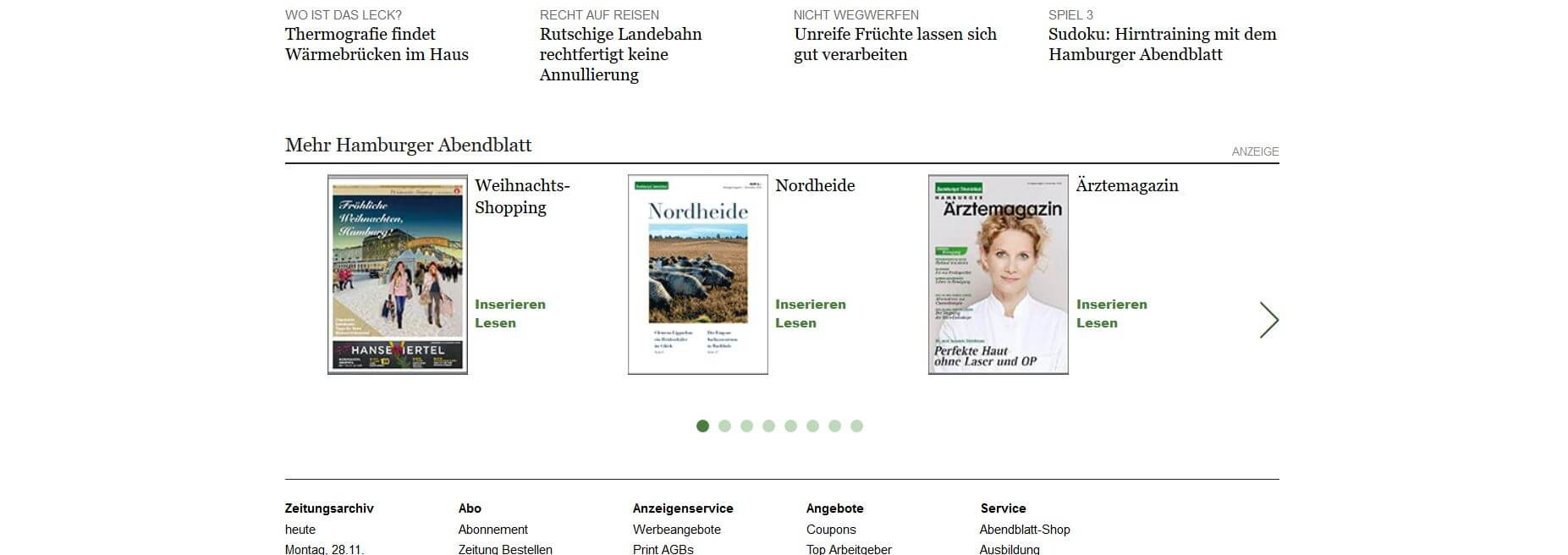 November-Ausgabe Hamburger Ärztemagazin erschienen