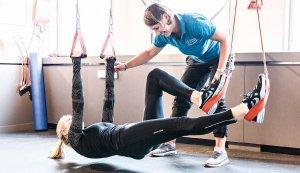 Claudia Teichman Das Redcord® Active-Training im Schlingensystem verbessert Kraft, Koordination und Stabilität
