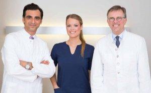 Dr. Halil Dag, Teamleiterin Kendra Klement und Prof. Dr. Henning Niebuhr