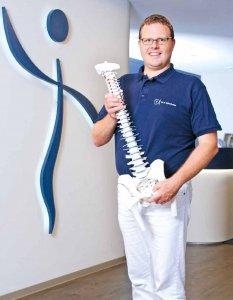 Hilft bei Rückenschmerzen: Dr. Nicolai Schurbohm vom Rückenzentrum Am Michel