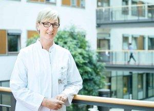 Dr. Ursula Scholz leitet das Brustzentrum mit den drei Standorten Barmbek, Wandsbek und Nord