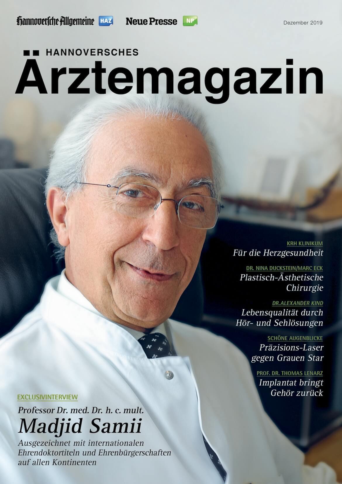 Hannoversches Ärztemagazin Ausgabe Dezember 2019 erschienen