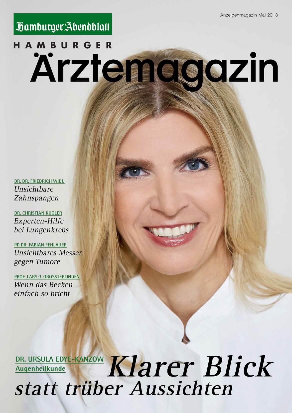 Hamburger Ärztemagazin Ausgabe Mai 2018 erschienen
