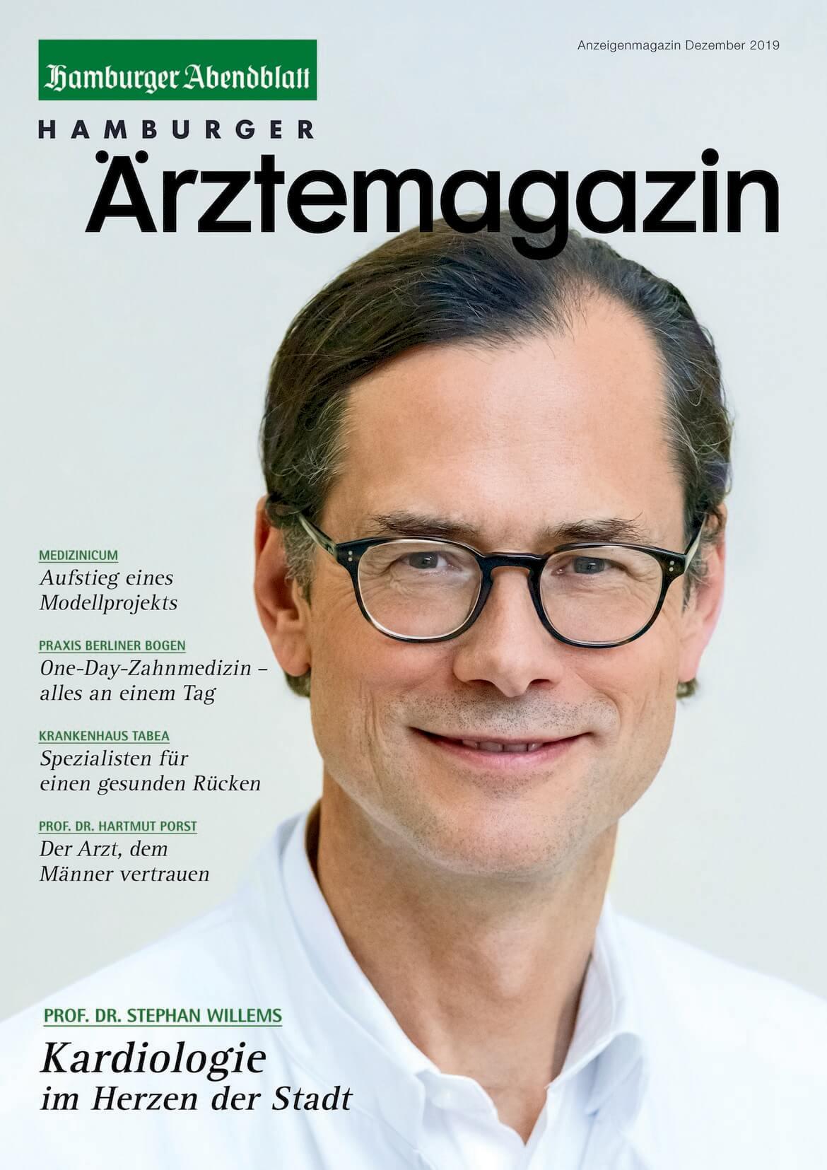 Hamburger Ärztemagazin Ausgabe Dezember 2019 erschienen