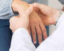 Auch Handverletzungen gehören zu den Schwerpunkten von Prof. Kühne