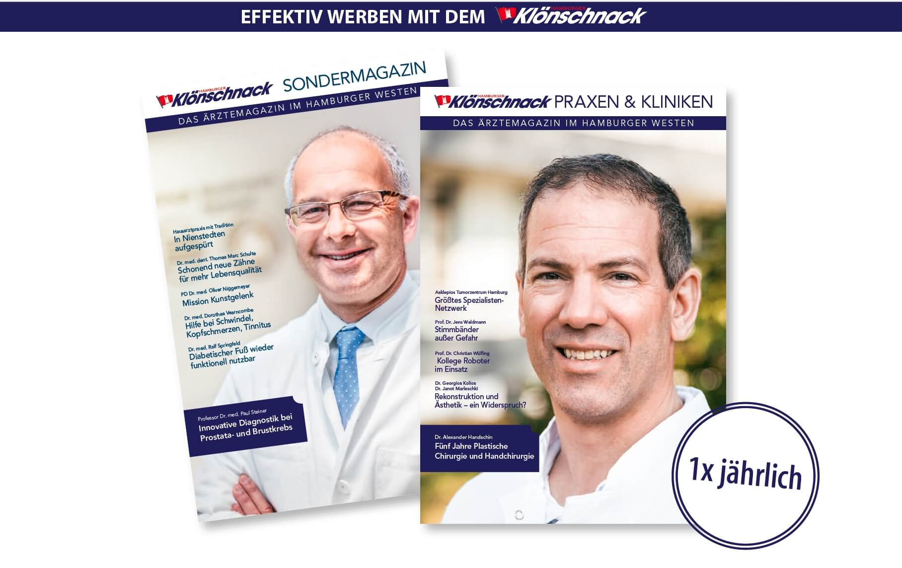 Arbeiten am Klönschnack Jahresmagazin 2018 begonnen
