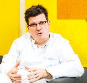 Priv.-Doz. Dr. Holger Maul leitet die Abteilungen für Geburtshilfe in den Asklepios Kliniken Barmbek und Nord