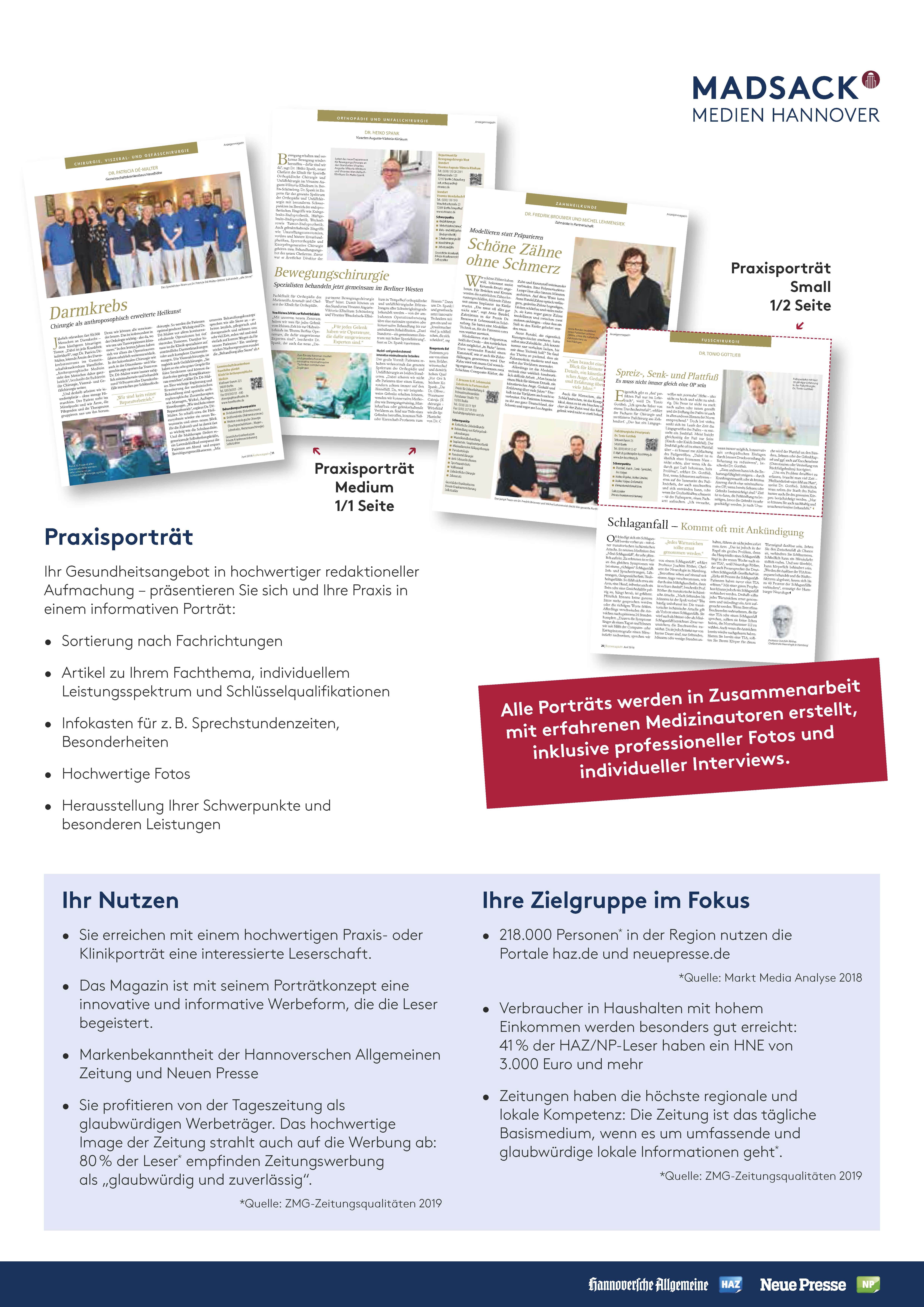 Infos zum Start des Hannoverschen Ärztemagazin