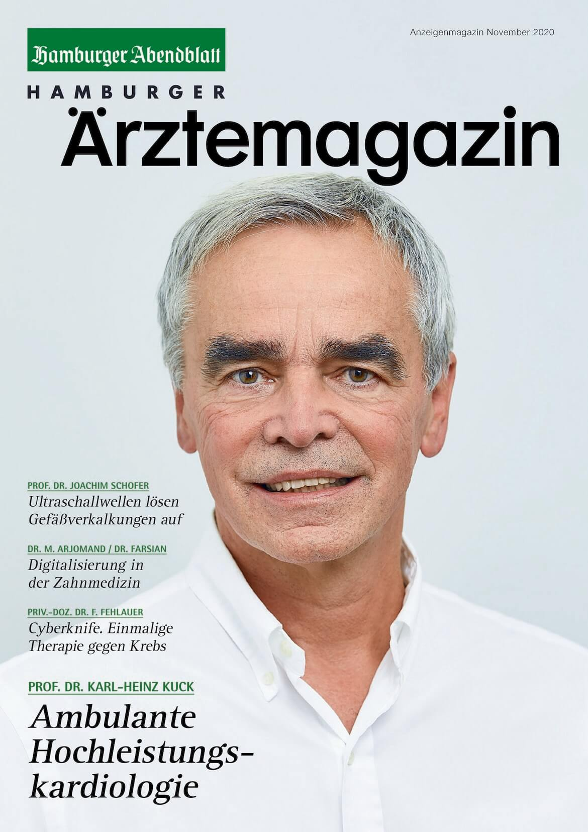 Hamburger Ärztemagazin Ausgabe November 2020 erschienen