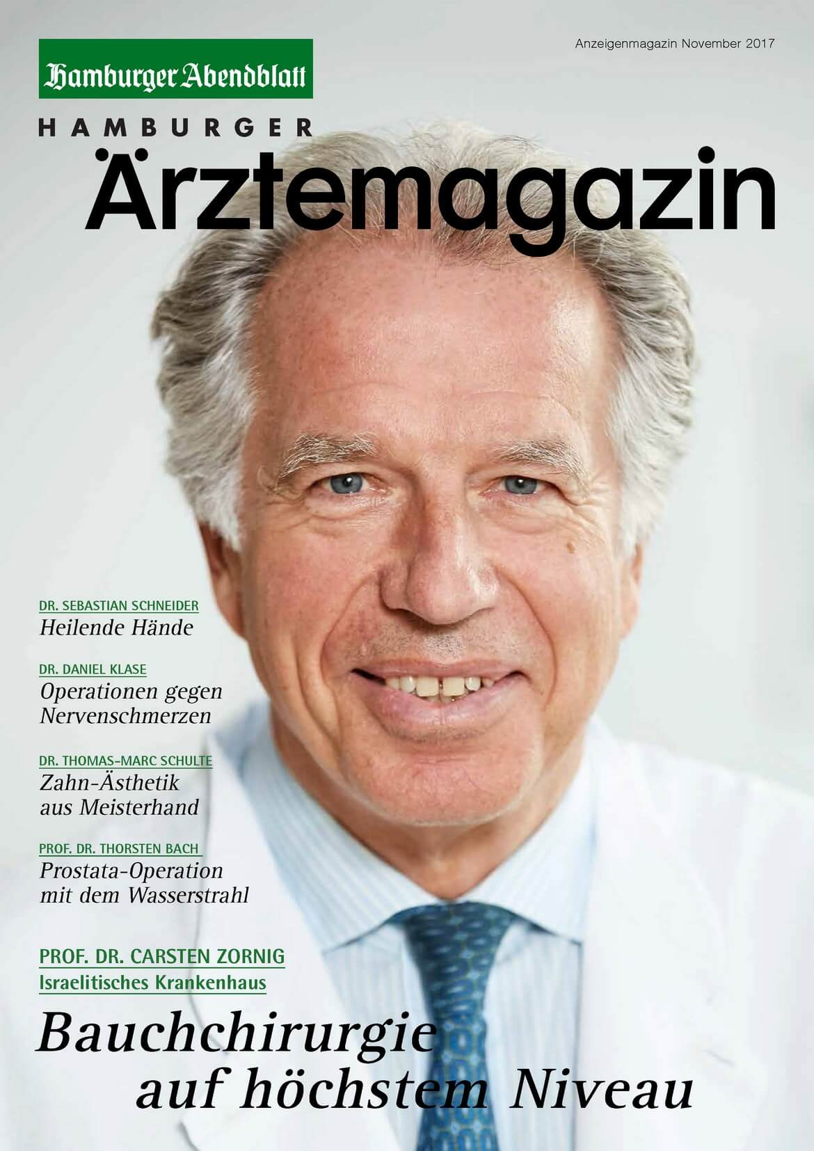 Hamburger Ärztemagazin November 2017 erschienen