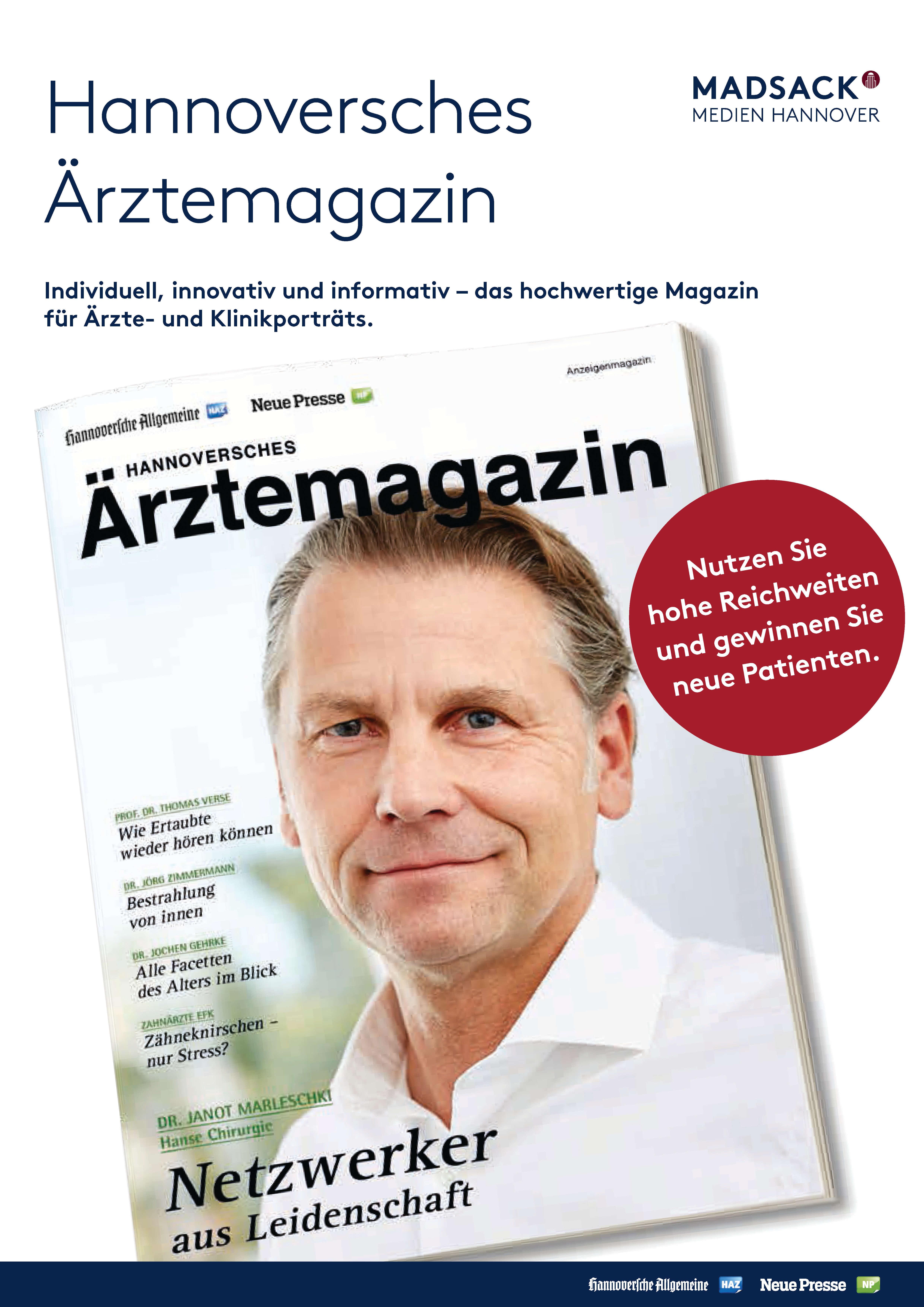 Alles zum Start vom Hannoverschen Ärztemagazin