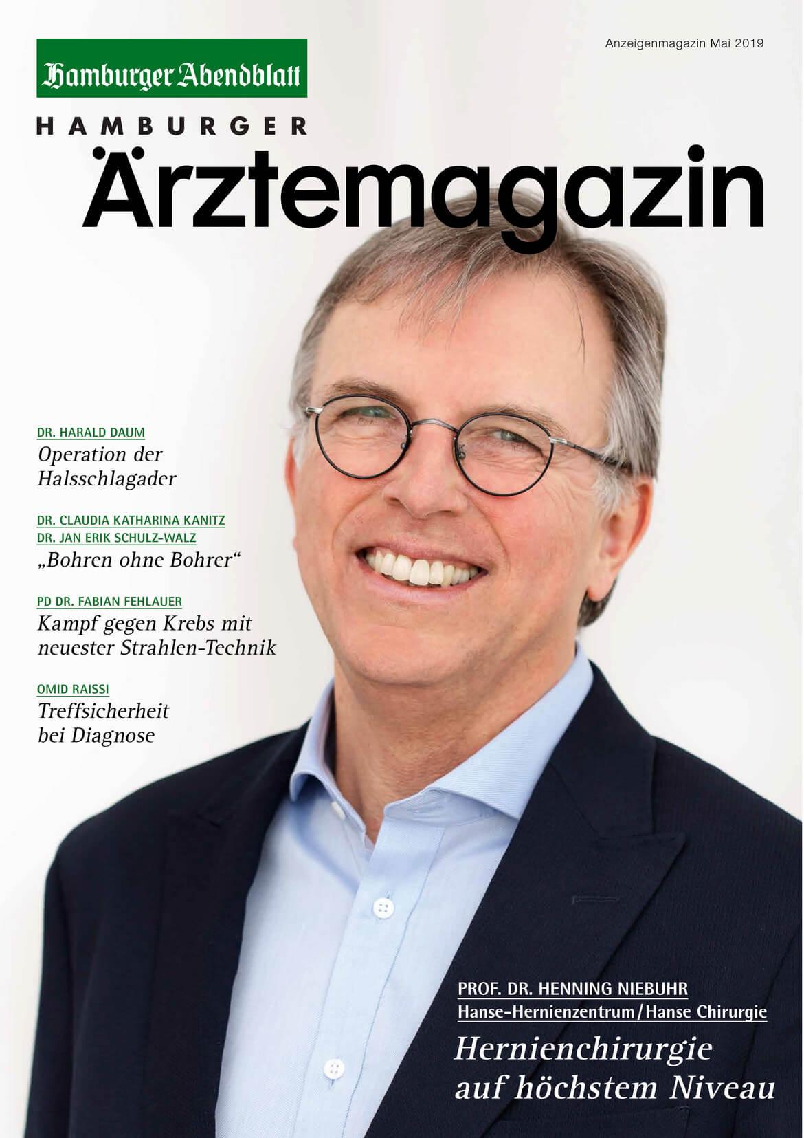 Hamburger Ärztemagazin Ausgabe Mai 2019 erschienen