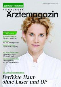 Titelbild Hamburger Ärztemagazin Ausgabe November 2016