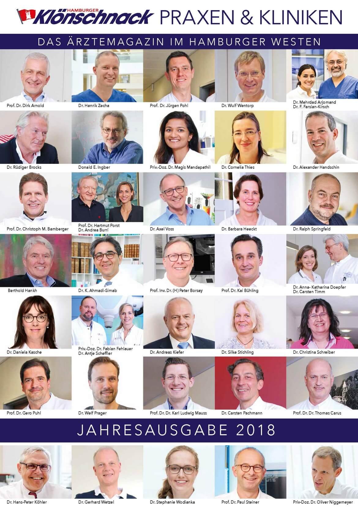 Ärztemagazin Hamburger Klönschnack – Jahresausgabe 2018 erschienen