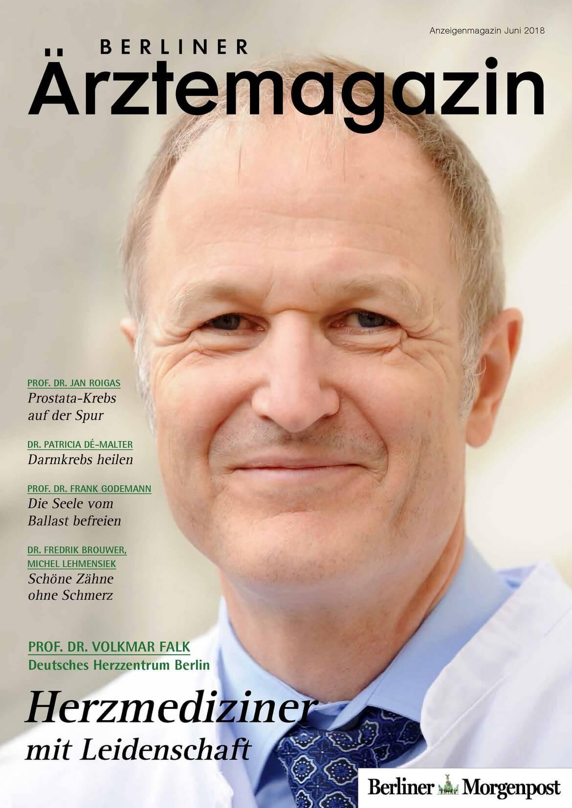 Berliner Ärztemagazin Ausgabe Juni 2018 erschienen