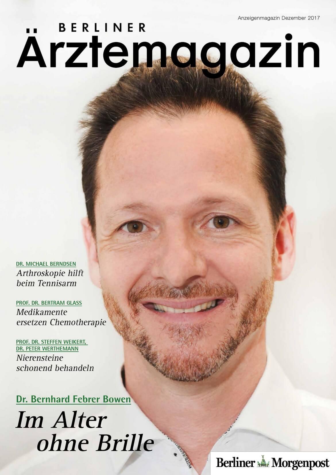 Berliner Ärztemagazin Ausgabe Dezember 2017 erschienen