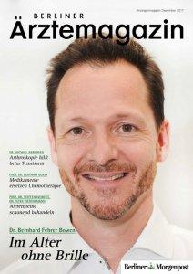 Titelbild Berliner Ärztemagazin Dezember 2017