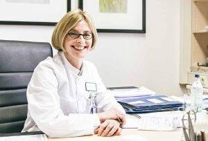 Priv.-Doz. Dr. Silke Tribius ist Chefärztin des Hermann-Holthusen-Instituts für Strahlentherapie an der Asklepios Klinik St. Georg