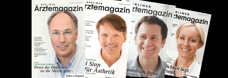 Nächstes Berliner Ärztemagazin erscheint am 11.05.2017