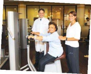 In der Humboldtmühle steht der Patient im Mittelpunkt: Sowohl im Training