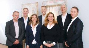 v. l. n. r. : Dr. Jägersberg, Dr. Elsner, Dr. Betzold, PD Dr. Niggemeier, Prof. Dr. Pogoda, Dr. Lechert, Dr. Marleschki